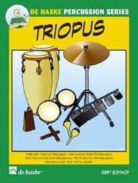 Triopus Gert Bomhof Partition Ensemble de percussions - laflutedepan