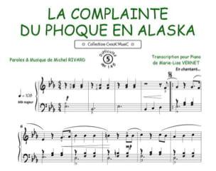 La Complainte du Phoque en Alaska Michel Rivard Partition laflutedepan