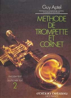 Méthode de Trompette et de Cornet Volume 2 Guy Aptel laflutedepan