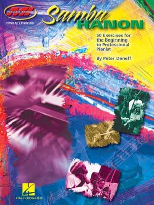 Samba Hanon Peter Deneff Partition Musique du monde - laflutedepan
