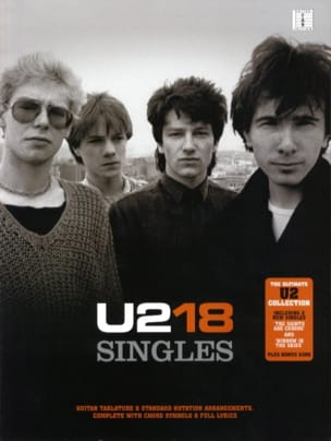 U2 - 18 Singles U2 Partition Pop / Rock - laflutedepan