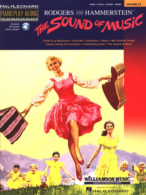Piano Play-Along Volume 25 - The Sound Of Music - laflutedepan.be
