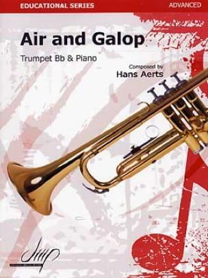 Air and galop - Hans Aerts - Partition - Trompette - laflutedepan.com
