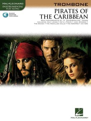Pirates des Caraïbes Klaus Badelt Partition Trombone - laflutedepan