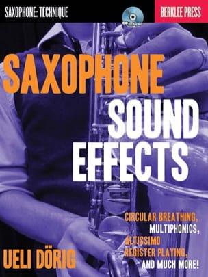 Saxophone Sound Effects - Ueli Dörig - Partition - laflutedepan.com