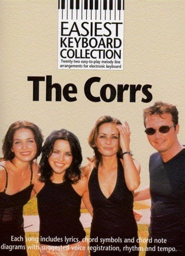 Easiest Keyboard Collection - The Corrs - Partition - laflutedepan.com