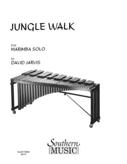 Jungle Walk David Jarvis Partition Marimba - laflutedepan