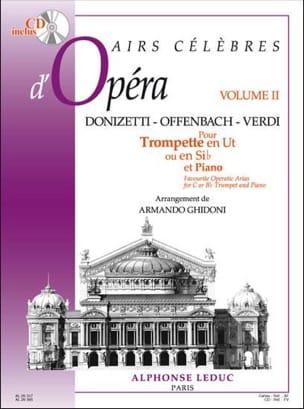 Airs Célèbres D' Opéra Volume 2 Partition Trompette - laflutedepan