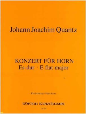 Konzert Für Horn Es-Dur QUANTZ Partition Cor - laflutedepan