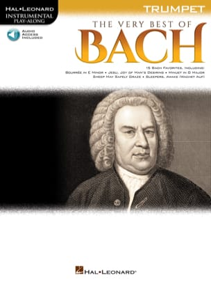 The Very Best of Bach BACH Partition Trompette - laflutedepan