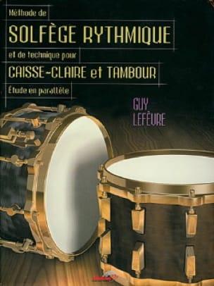 Méthode de Solfège Rythmique - Guy Lefèvre - laflutedepan.com