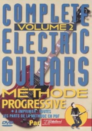 DVD - Complete electric guitars 2 - Méthode progressive - laflutedepan.com