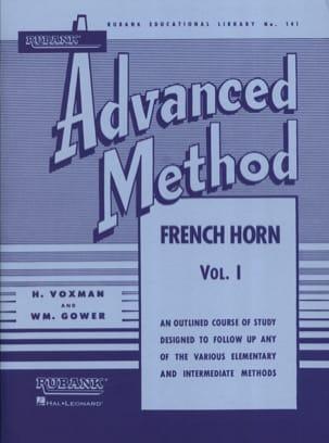 Advanced Method Volume 1 Himie Voxman & WM. Gower laflutedepan