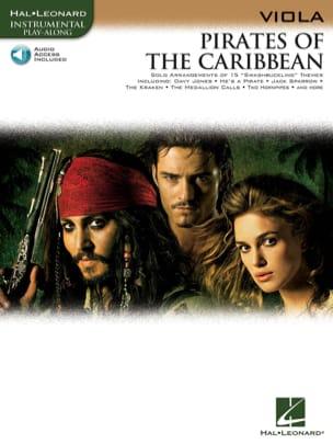 Pirates des Caraïbes Klaus Badelt Partition Alto - laflutedepan