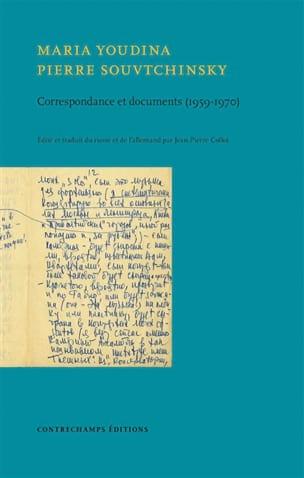 YOUDINA Maria / SOUVTCHINSKY Pierre - Correspondence and documents (1959-1968) - Livre - di-arezzo.co.uk