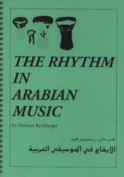 The Rhythm in Arabian Music Herman RECHBERGER Livre laflutedepan