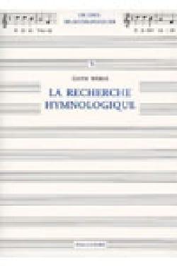 La recherche hymnologique Edith WEBER Livre laflutedepan