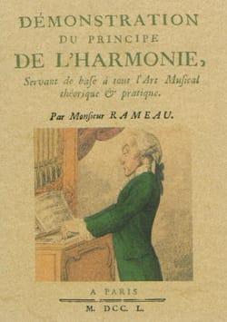 RAMEAU Jean-Philippe - Demostración del principio de armonía - Livre - di-arezzo.es
