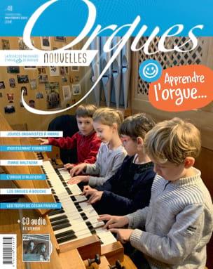 Orgues Nouvelles n°48, printemps 2020 - Revue - laflutedepan.com