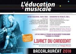 L'éducation musicale - baccalauréat 2018 : le livret du candidat laflutedepan