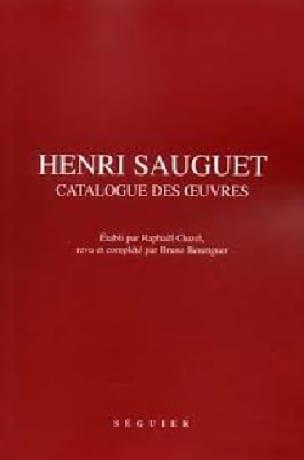 Henri Sauguet, catalogue des oeuvres - laflutedepan.com