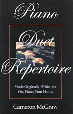 Piano duet repertoire - Cameron MCGRAW - Livre - laflutedepan.com