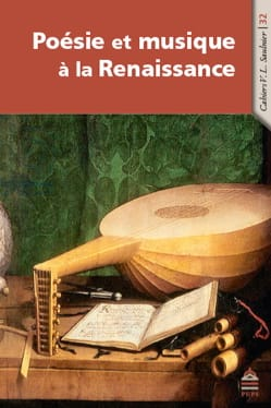 Poésie et musique à la Renaissance Alice TACAILLE Livre laflutedepan