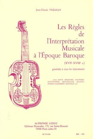 Les règles de l'interprétation musicale à l'époque baroque laflutedepan