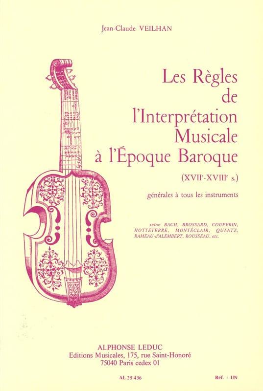 Les règles de l'interprétation musicale à l'époque baroque - laflutedepan.com