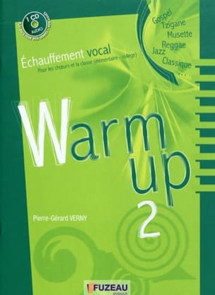 Warm up, vol. 2 VERNY Pierre-Gérard Livre laflutedepan