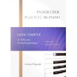 Progresser plus vite au piano Johann PUPPETTO Livre laflutedepan