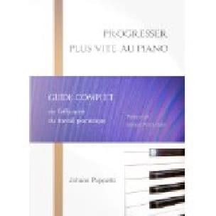 Progresser plus vite au piano - Johann PUPPETTO - laflutedepan.com