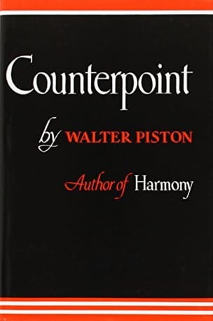 Counterpoint Walter PISTON Livre Contrepoint - laflutedepan