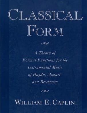 Classical form CAPLIN William E. Livre Les Epoques - laflutedepan