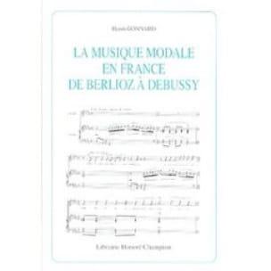 La musique modale en France de Berlioz à Debussy - laflutedepan.com