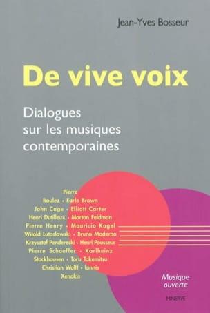 De vive voix : dialogues sur les musiques contemporaines laflutedepan