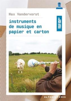 Instruments de musique en papier et carton laflutedepan