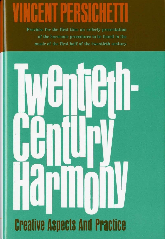 Twentieth-Century Harmony - Vincent PERSICHETTI - laflutedepan.com