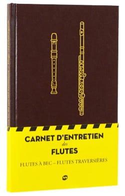 CARNET D'ENTRETIEN DES FLÛTES - d'entretien Carnet - laflutedepan.com