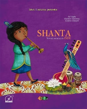Shanta : voyage musical en Inde Zaf ZAPHA Livre laflutedepan