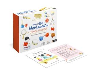 Mon coffret Montessori d'éveil musical Emmanuelle BLIN laflutedepan