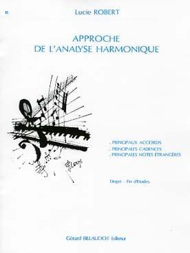 Approche de l'analyse harmonique - Lucie ROBERT - laflutedepan.com