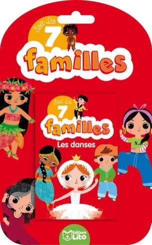 Jeu des 7 familles : les danses Sonia BARETTI Livre laflutedepan
