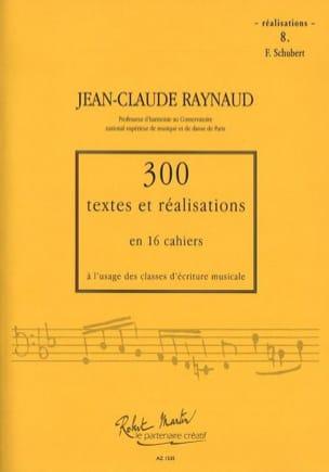 300 Textes et Realisations Cahier 8 (Réalisations): Schubert laflutedepan