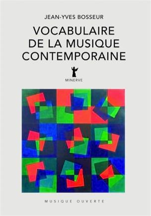 Vocabulaire de la musique contemporaine BOSSEUR Jean-Yves laflutedepan