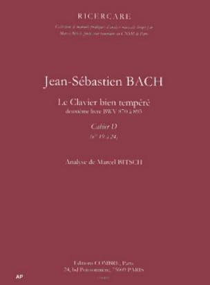 Analyse du Clavier bien tempéré de Bach : cahier D - laflutedepan.com