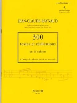 300 textes et réalisations, cahier 4 (réalisations) laflutedepan