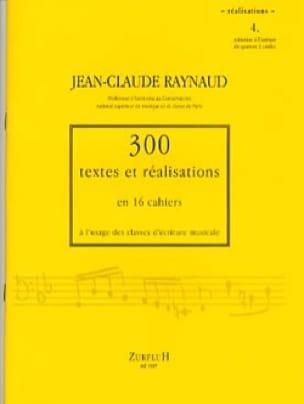 300 textes et réalisations, cahier 4 (réalisations) - laflutedepan.com