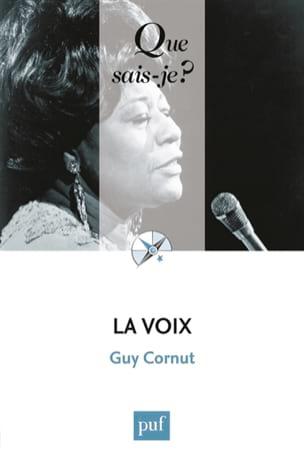 La voix Guy CORNUT Livre Les Sciences - laflutedepan