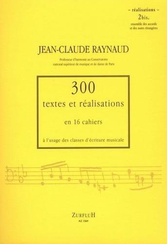300 textes et réalisations, cahier 2bis (réalisations) - laflutedepan.com